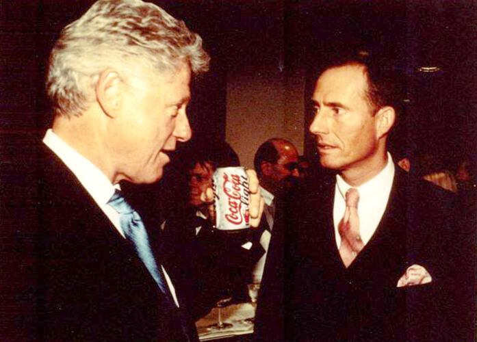 Бодо Шефер и Билл Клинтон фото