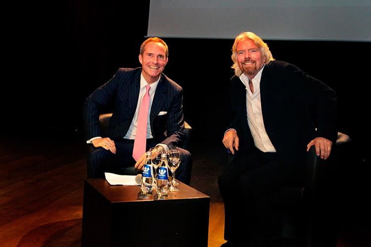 Бодо Шефер и Ричард Брендсон фото
